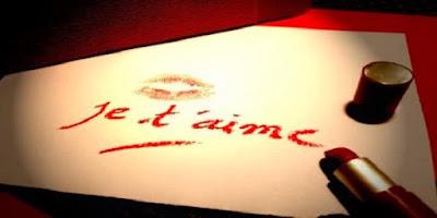 Message d'amour romantique je t'aime mon coeur