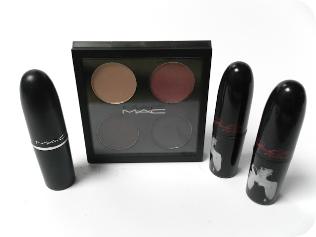 A picture of a MAC makeup haul