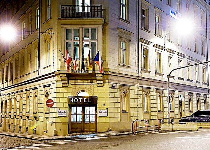 Prag :: Hoteltipp Chopin Hotel Prag