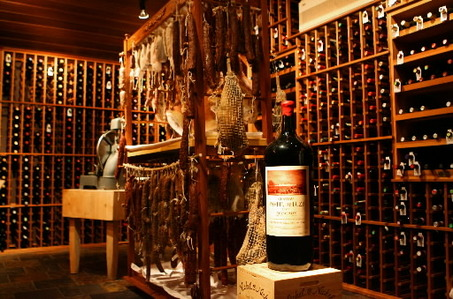 ... a temperature controlled wine room is the perfect environment for dry curing your own prosciuttos sausages and other meats. & Our French Inspired Home: Old World Rustic Wine Cellars