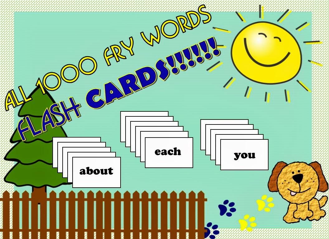 https://www.teacherspayteachers.com/Product/All-Fry-1000-words-flash-cards-1700751
