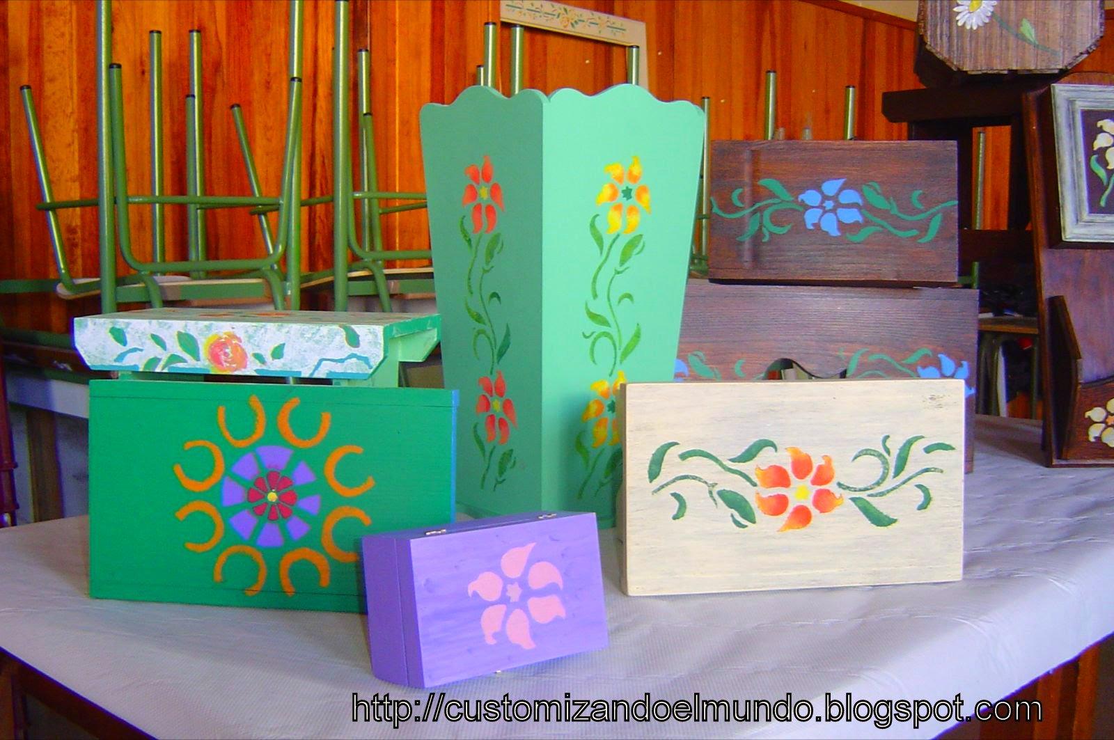Customizando el mundo taller de restauraci n y ornamentaci n de muebles y objetos fuencaliente - Taller de restauracion de muebles ...