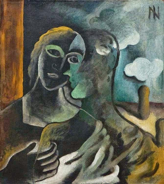 Casal em Verde, de Ismael Nery