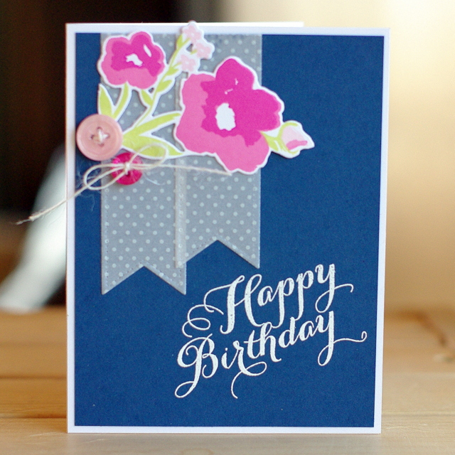 Papertrey Ink April Blog Hop Leigh Penner #cards