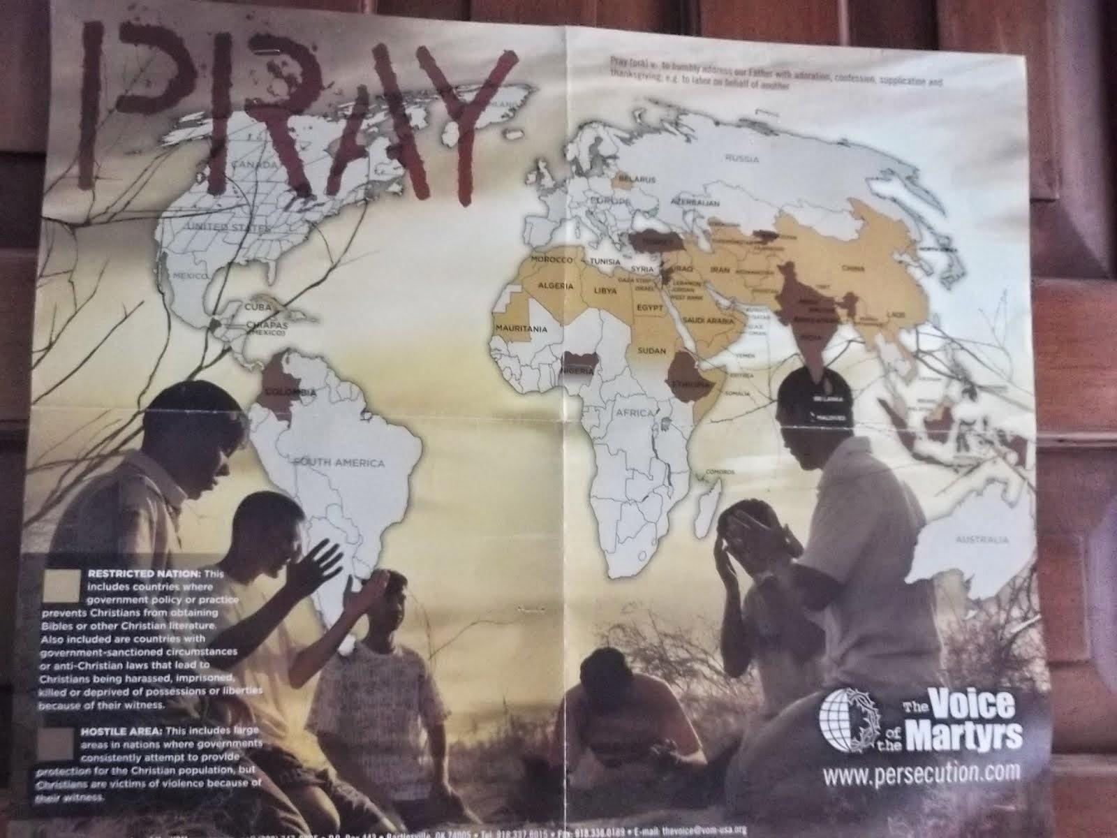 Persecucion alrededor del mundo