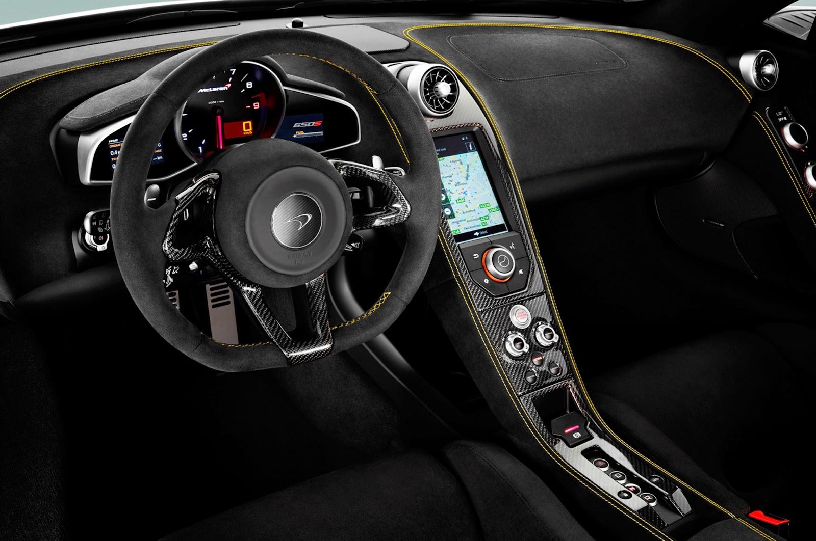 2015 McLaren 650S Interior