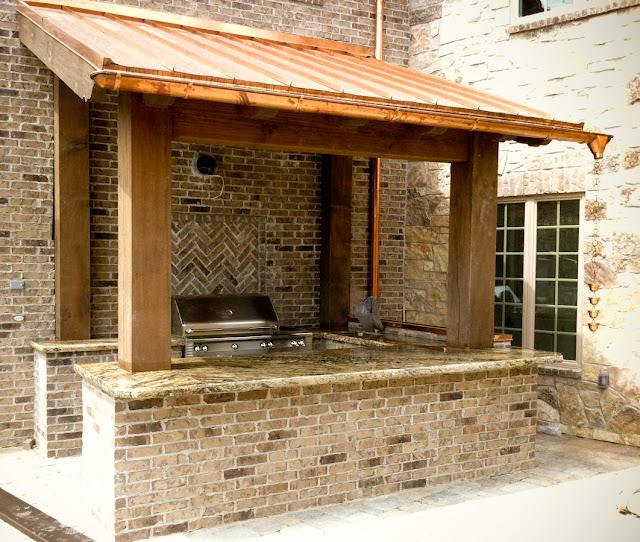 The Granite Gurus Pool House Amp Outdoor Bbq