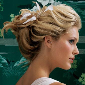 Peinados Informales Para Boda - Peinados para invitadas de boda Cocktail de mariposas