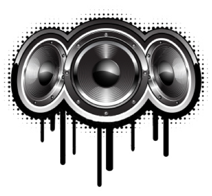 dj speakers clipart. dj speaker png nutty\u0027s computer systems: output devices speakers clipart z