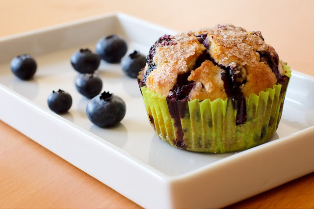 Muffin ai Mirtilli - Ricetta Originale