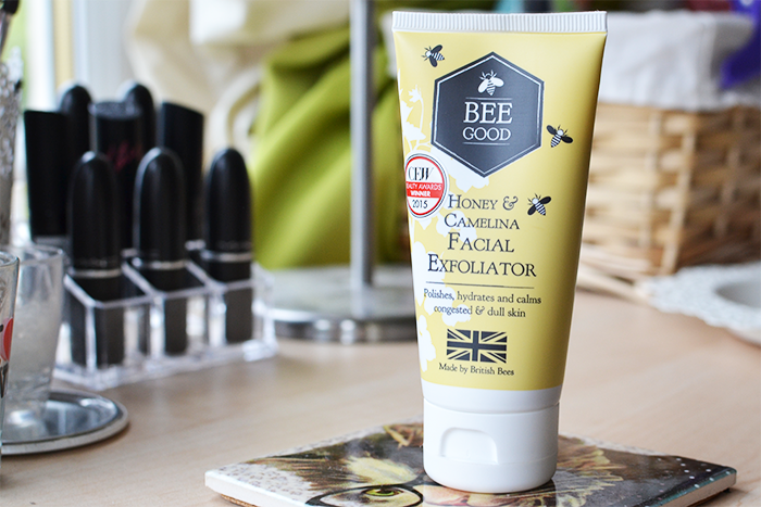 Bee Good Honey & Camelina Facial Exfoliator | Colours and Carousels - Scottish Lifestyle, Beauty & Fashion Blog