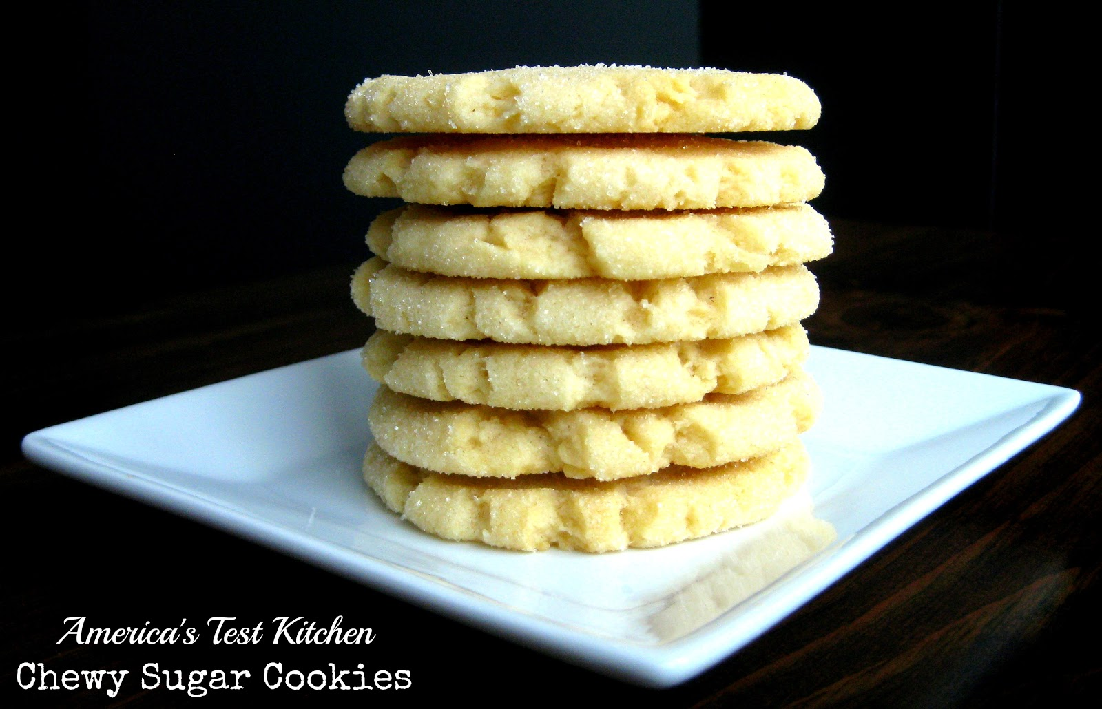 Karis' Kitchen | A Vegetarian Food Blog: Chewy Sugar Cookies