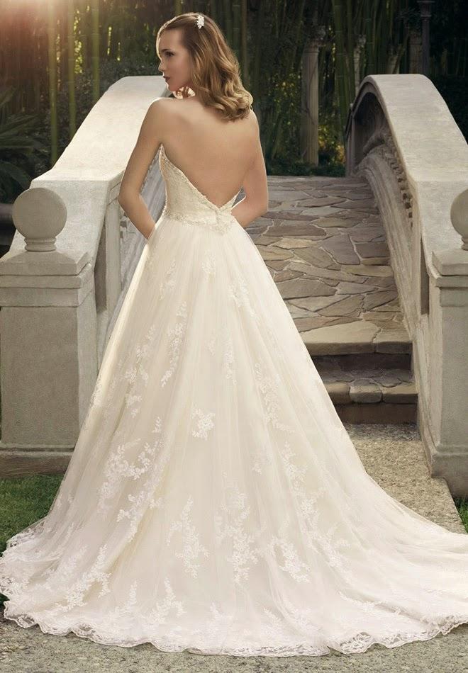 Casablanca Wedding Gown 62 Luxury