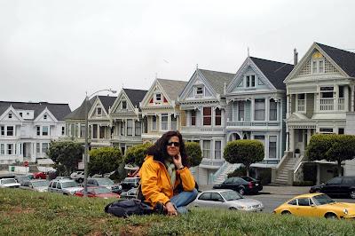 Sentada en San Francisco