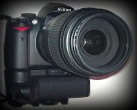Grip para Nikon D5000. Abuelohara.
