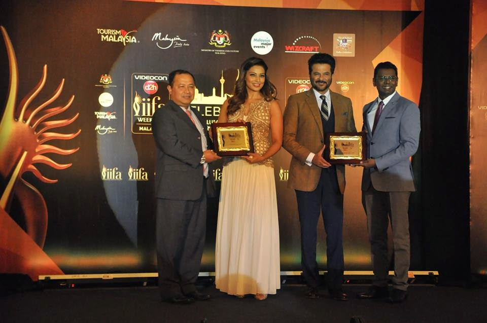 Anil Kapoor and Bipasha Basu at IIFA 2015 Malaysia Press Conference