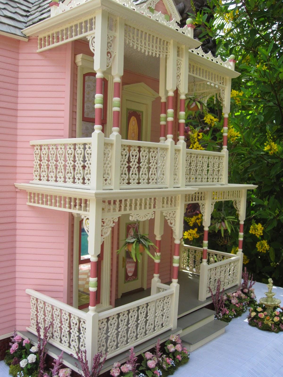 Dollhouses By Robin Carey The Elizabeth Street Victorian Dollhouse