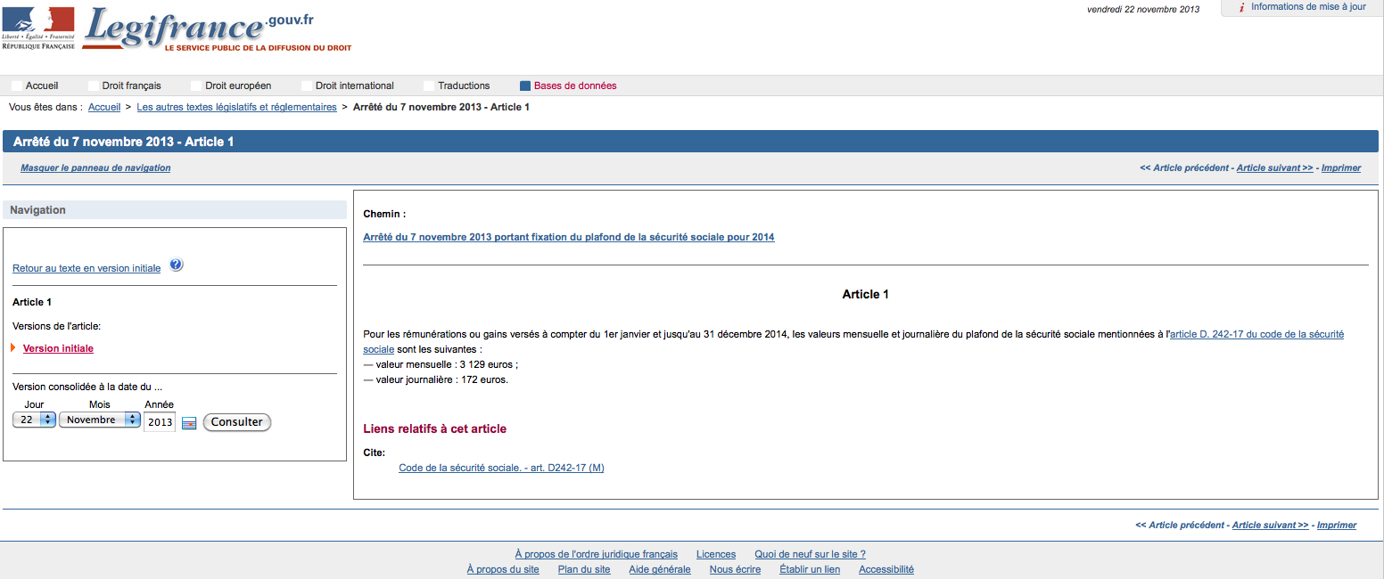 Cession acquisition finance transmission entreprise le - Plafond annuel de la securite sociale 2012 ...