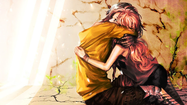 I Love Yout Hug Art HD Wallpaper
