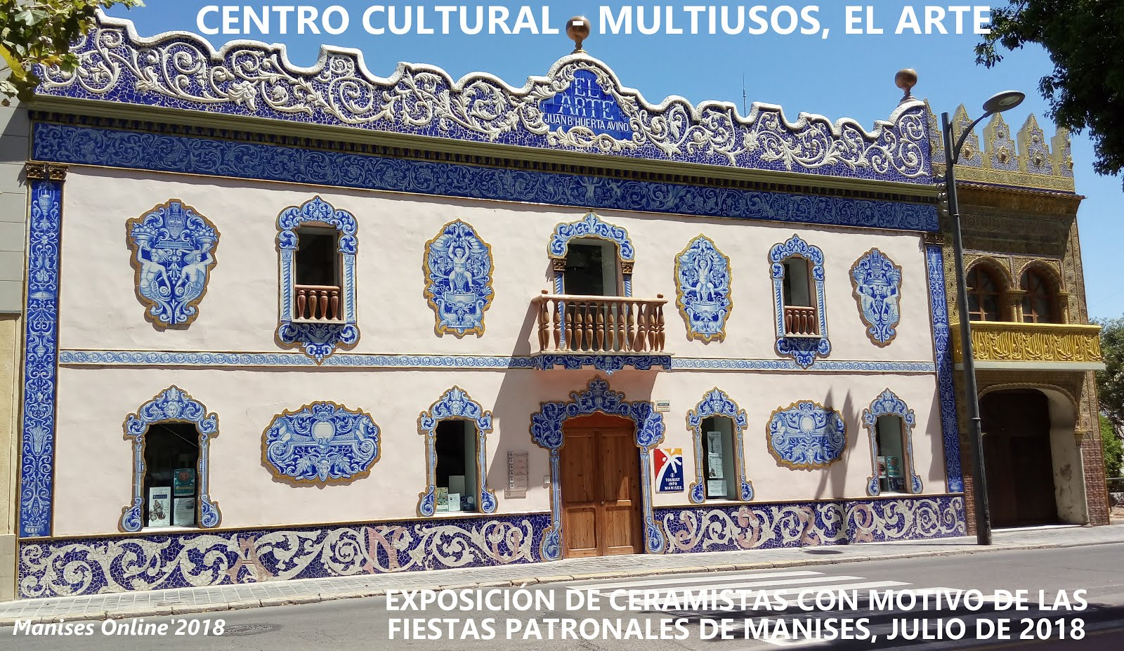 12.07.18 EXPOSICIÓN DE ARTESANOS CERAMISTAS EN EL CENTRO CULTURAL EL ARTE