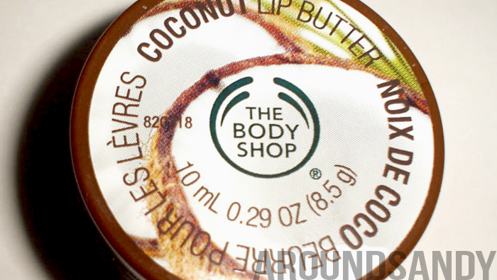 bálsamo labial coco the body shop coconut lip butter bálsamo labial coco the body shop coconut lip butter swatch