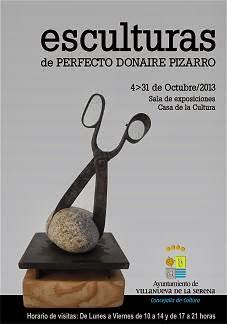 Exposición esculturas Perfecto Donaire