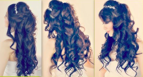 Gorgeous Half Up Prom Hair Tutorial Easy Girls Hairstyles
