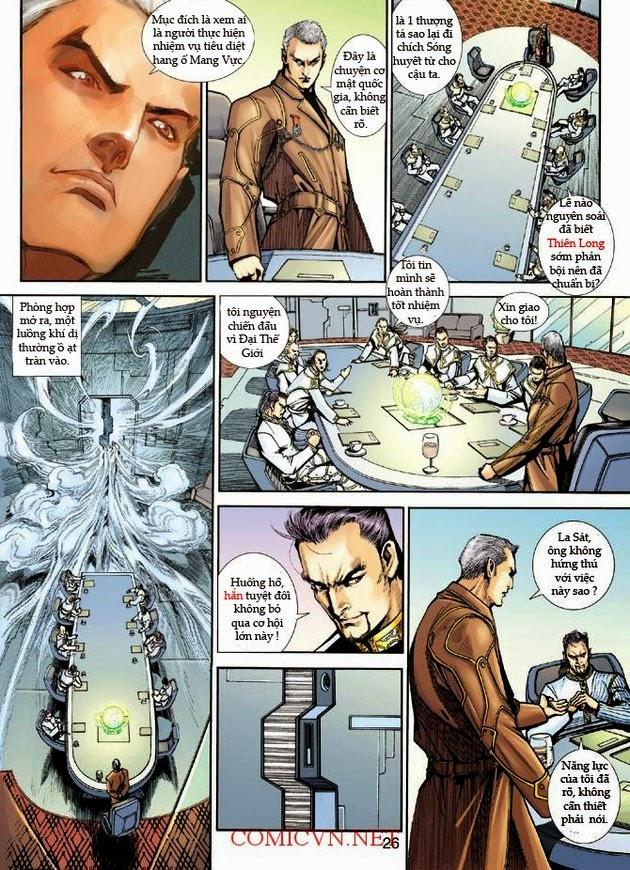 Thần Binh Khoa Huyễn Ký chap 2 - Trang 25