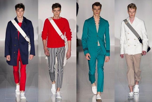 Analizamos en este blog de moda masculina la propuesta con estilo amrinero de Gucci
