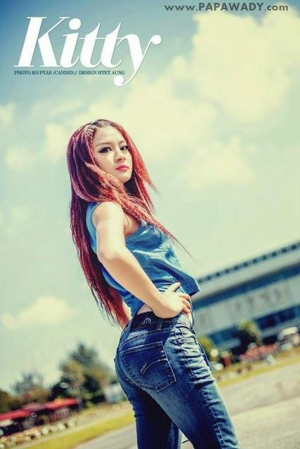 Wut Hmone Shwe Yi - Hello Kitty Girl