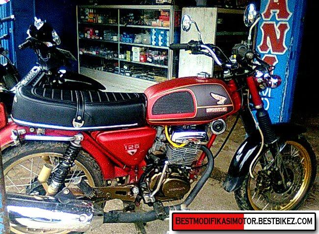 kumpulan artikel lengkap: Modifikasi Honda CB 100