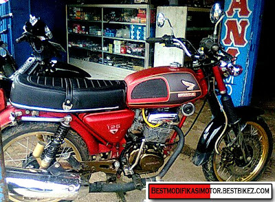 Download image Modifikasi Honda Cb100 Tangki Cb 125 175 Twin Gambar PC ...