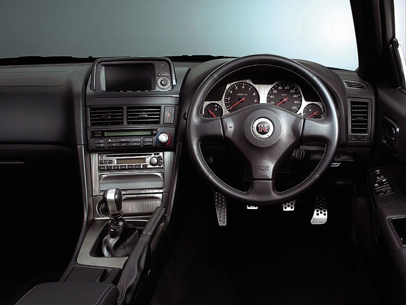 Cars And Only Cars Nissan Skyline Gtr R34 Interior