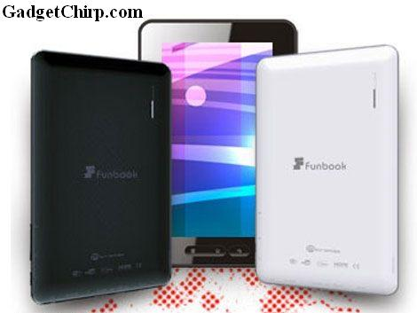 Micromax Funbook Android 4.0 Tablet : Full Specs & Features