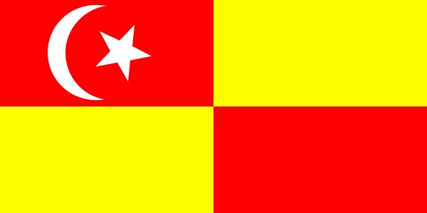 the flag of selangor,bendera negeri selangor,selangor malaysia,kelab bola selangor