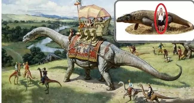 Οι δεινόσαυροι συνυπήρχαν με τους ανθρώπους;