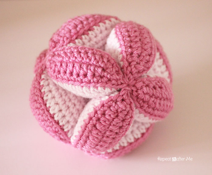 Crochet Baby Clutch Ball And Petals To Picots Pattern Giveaway