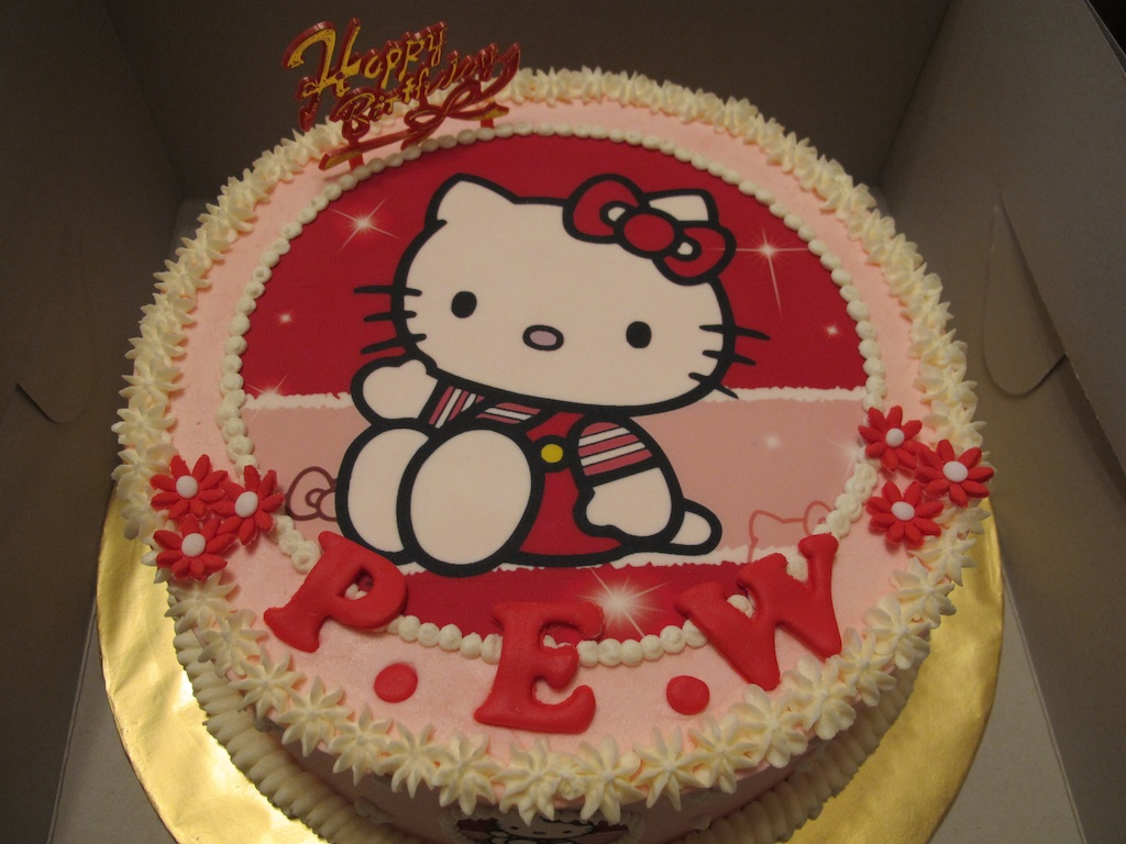 Cake Decoration Qatar : Pink Oven Cakes and Cookies: Edible Image Cakes