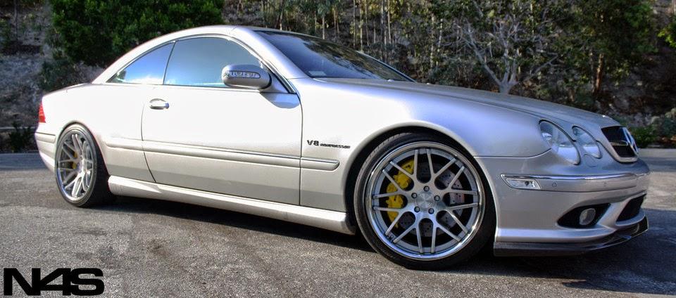 Mercedes Benz Cl55 Amg C215 On Vertini Concave Magic