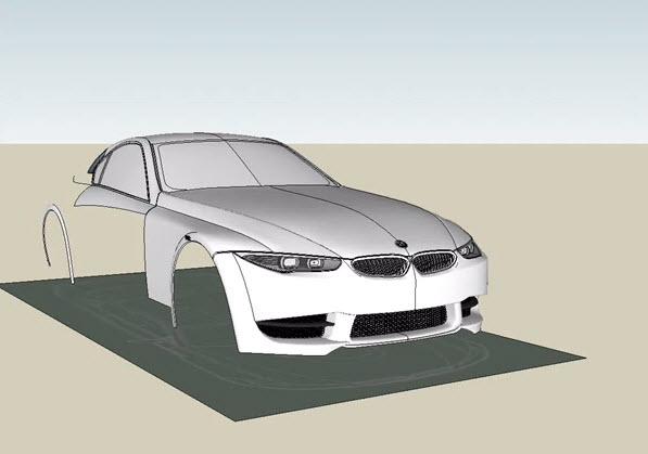 google sketchup 8 car modeling 2017. Black Bedroom Furniture Sets. Home Design Ideas