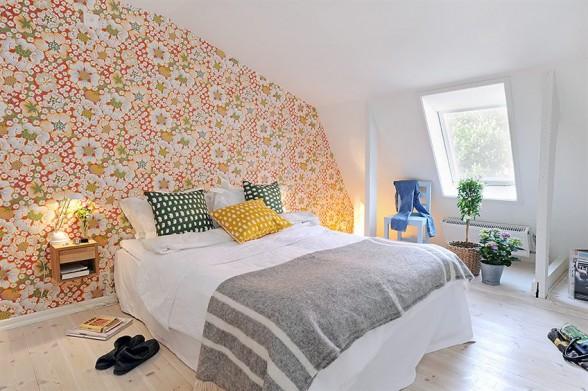damask wallpaper room. Digital Wallpaper Living Room