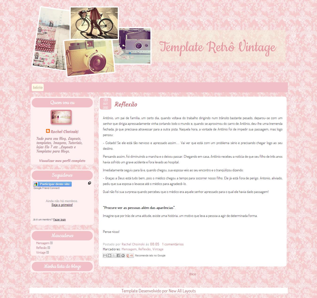Templates By Erika: Templates Free de Outras Web