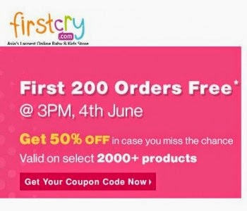 Firstcry will offer free Rs. 1000, Free Stuff,