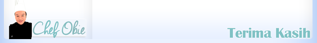 Template Blog Chef Obie, Blog Bingkisan Hati, Portfolio, tempahan edit/design/customize blog, tempahan edit blog murah, Tempahan Design Watermark Murah, tempahan design banner blog murah, tempahan design doodle murah