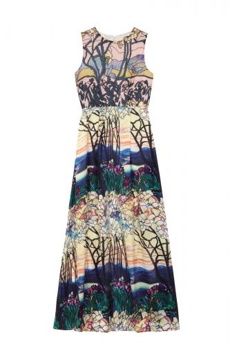 Aερινο μαξι φορεμα  για καλοκαιρινες εμφανισεις