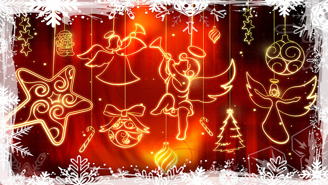 Colorful and Beautiful Christmas HD Wallpapers for iPhone 5