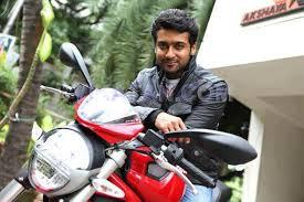 Suriya's New Bike
