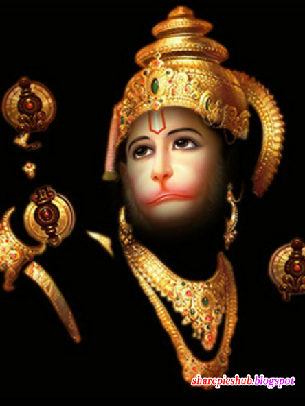 Lord Hanuman HD Image For Facebook Sharing   Bajrang Bali