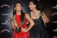 jacqueline fernandez at sansui colors stardust awards 2014 3.jpg