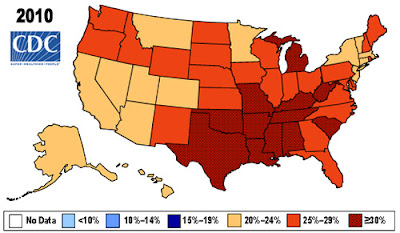 Obesity Trends, obesity, obesity rate, obesity chart
